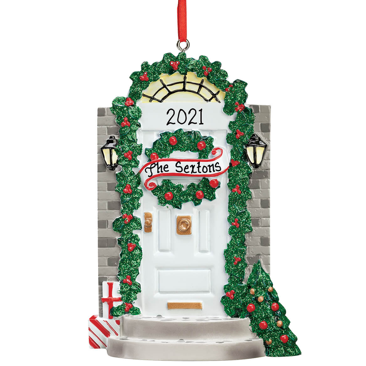 Personalized Front Door Ornament-355973