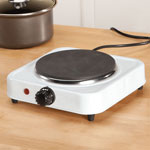 Фото #1: White Solid Single Top Hot Plate by Home Style Kitchen