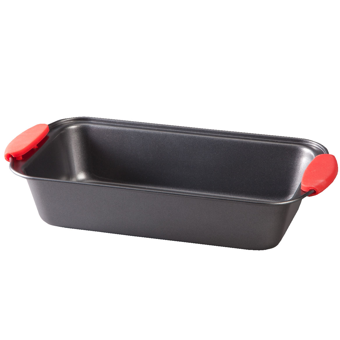 Loaf Pan with Red Silicone Handles by Home-Style Kitchen-356750