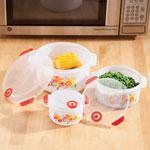 Floral Microwave Pot Set