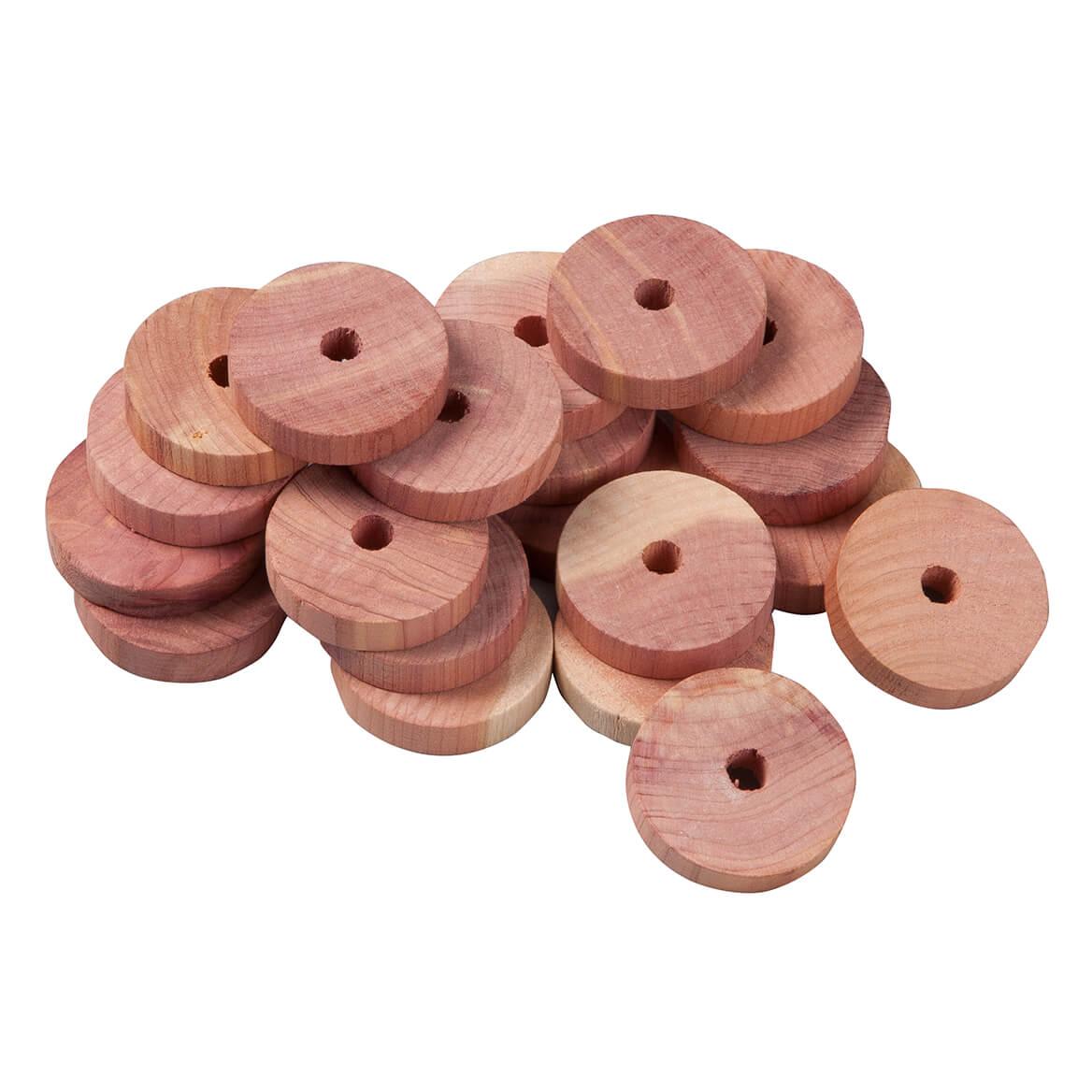 Cedar Hanger Discs, Set of 20 by OakRidge Accents™-357951