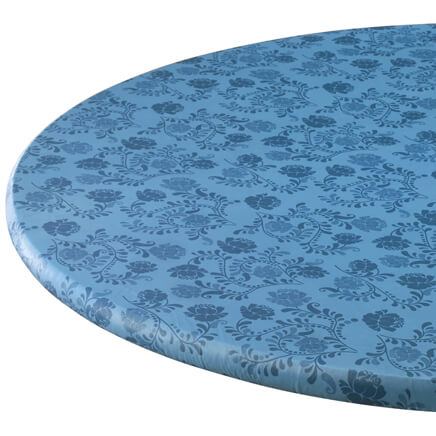 Marbled Elasticized Table Cover Round Elastic Table Cover Walter