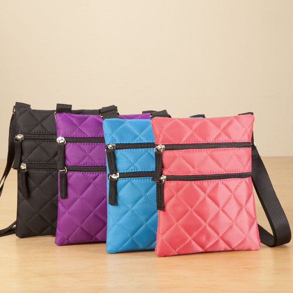 Фото #1: Quilted Crossbody Bag