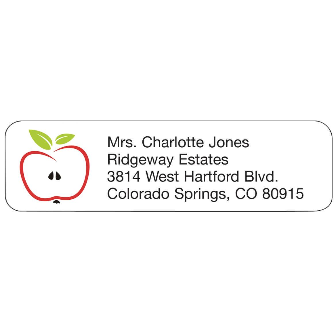Personal Design Labels Apple-358925