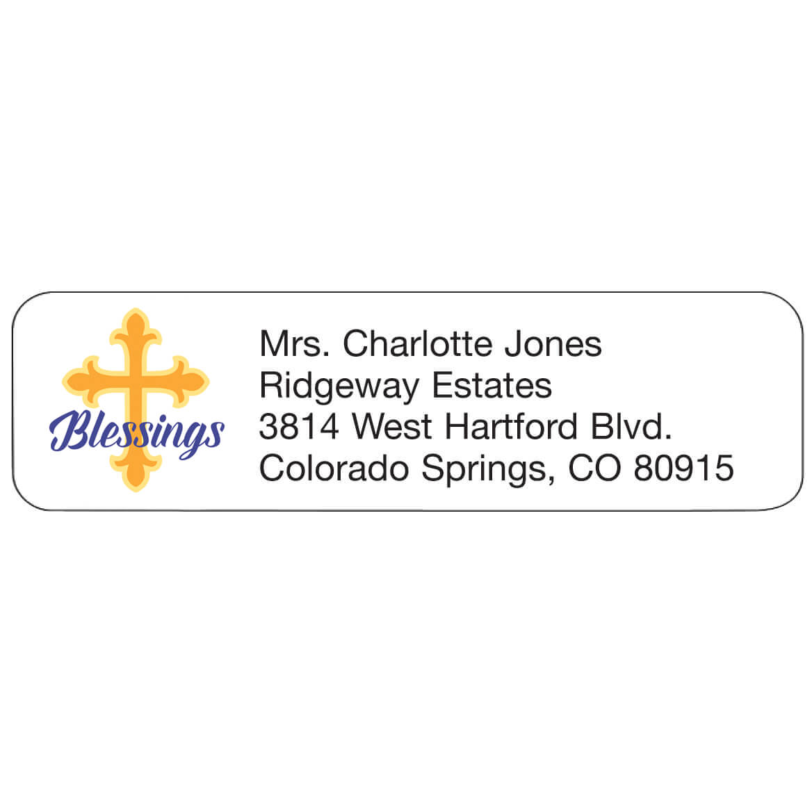 Personal Design Labels Blessings-358932