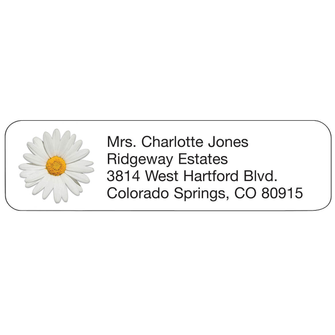 Personal Design Labels Daisy-358937