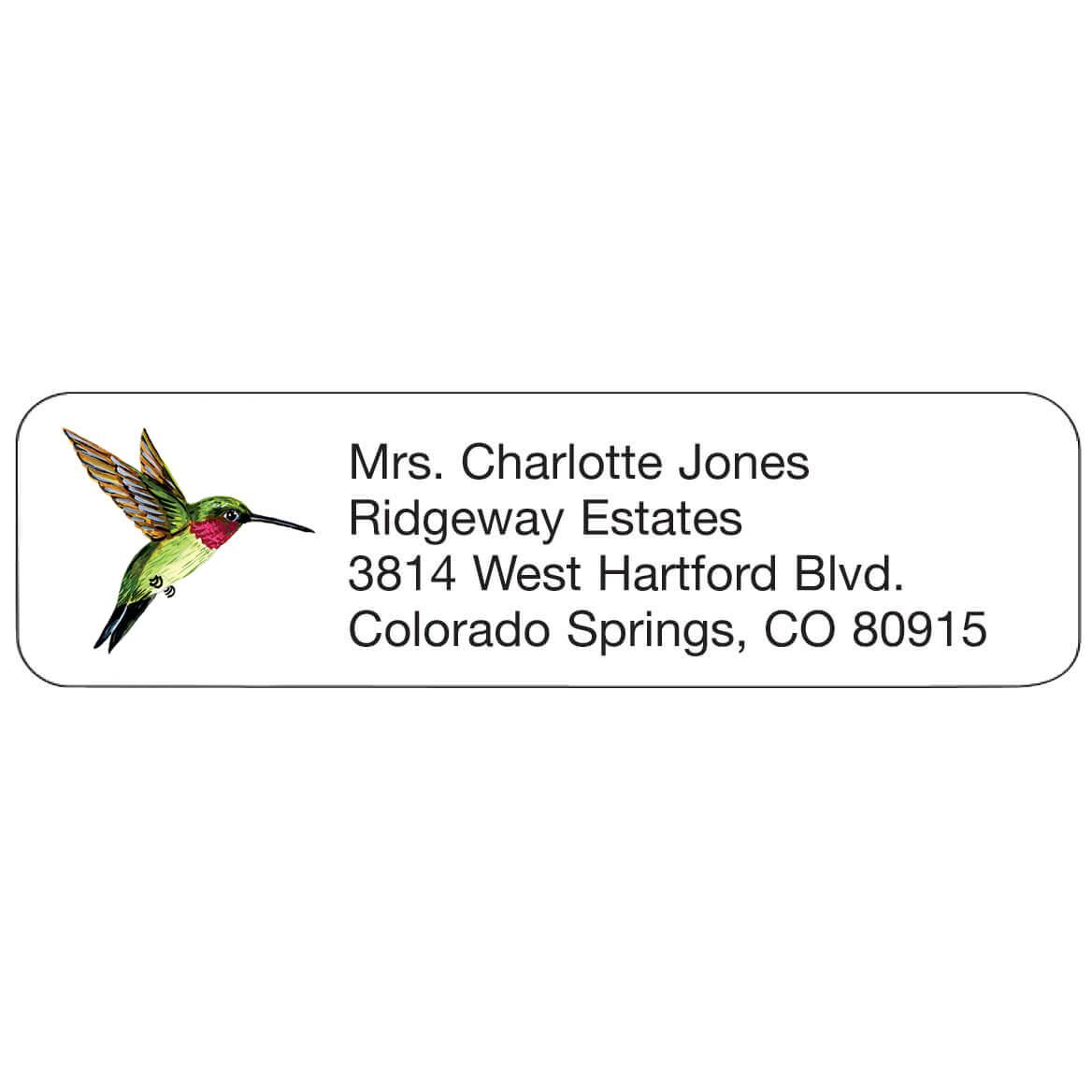 Personal Design Label Hummingbird-358980
