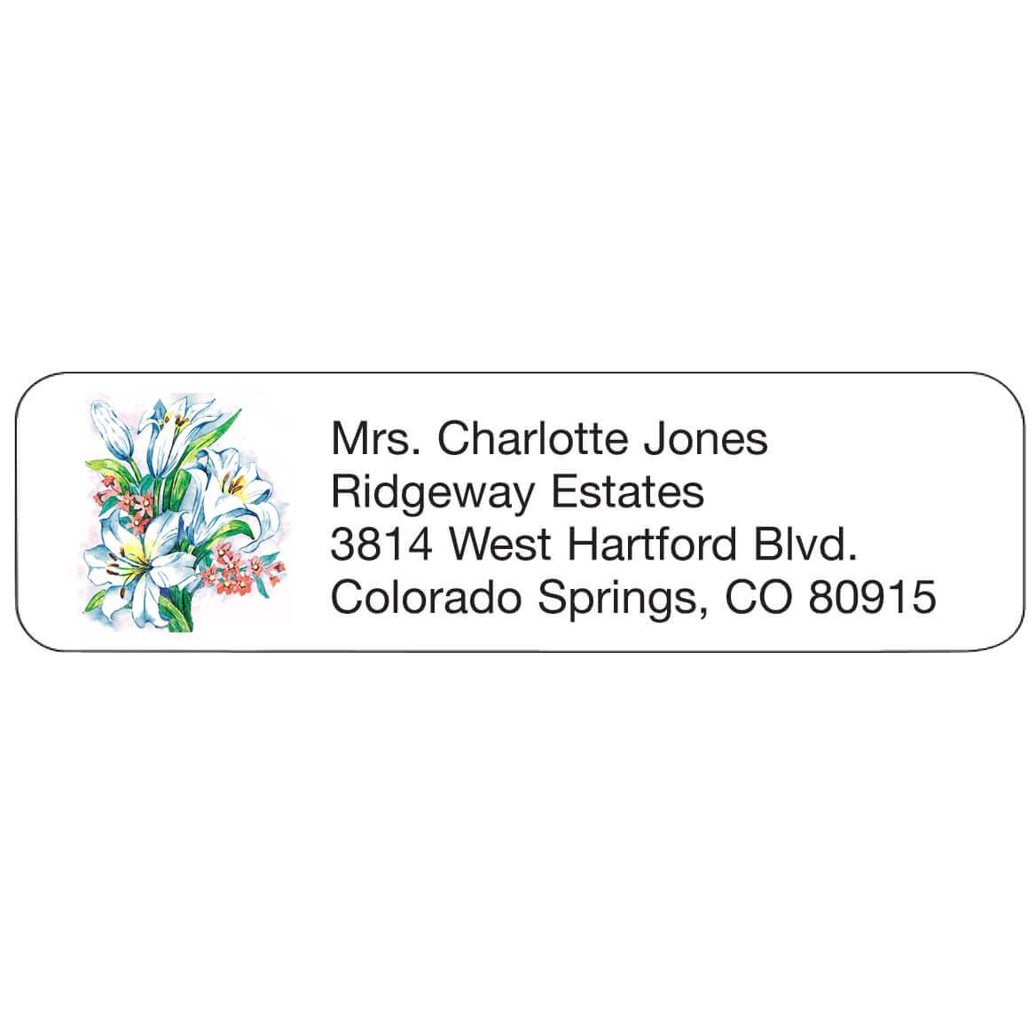 Personal Design Label Lillies-358981