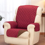 Купить со скидкой Reversible Microfiber Recliner Cover