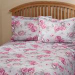 Elizabeth Reversible Microfiber Comforter by OakRidgeTM, Twin