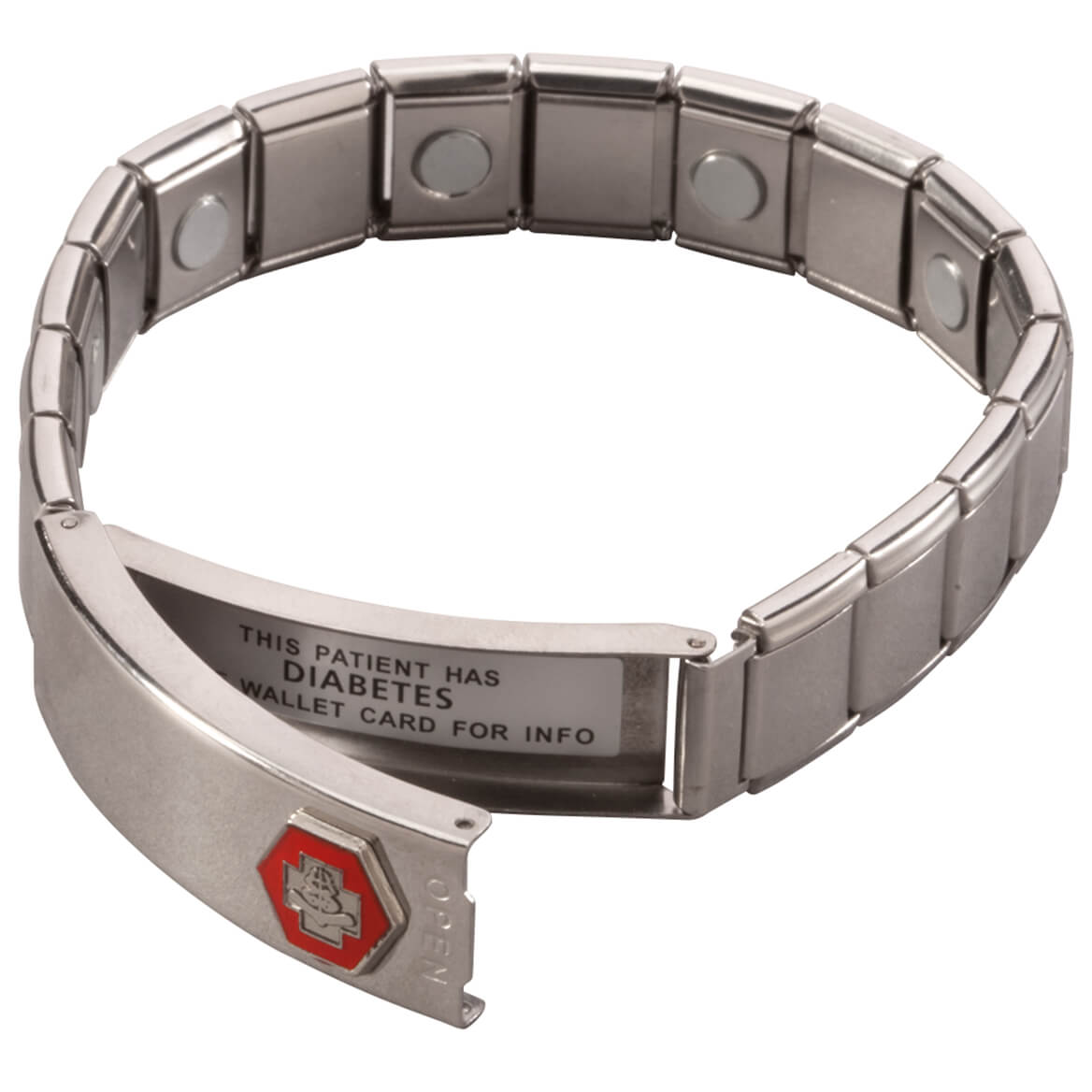 Medical ID Bracelet with Magnets-360046