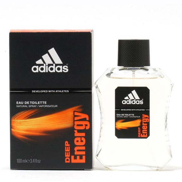 Adidas Deep Energy Men - EDT Spray 3.4oz Deep Energy by Adidas is a crispy fresh scent ideal for casual wear when you want to feel just a bit special about yourself. The opening notes are citrusy and refreshing with accords of fresh sea breeze, mandarin and green leaves. The heart notes are elevated by soothing lavender, juicy ripe green apples and spicy cardamom, while the base has a warm effect with amber, cedar and musky notes that settle down to be sultry and still feel energizing and fresh. Adidas, famous for its sports wear reaches the height of success with its line of fragrances for men, good not only for sports wear but also great for casual everyday wear. 3.4 fl. oz. An EDT spray. No express shipping. Please allow 3-4 weeks delivery time. No shipping to PO boxes.
