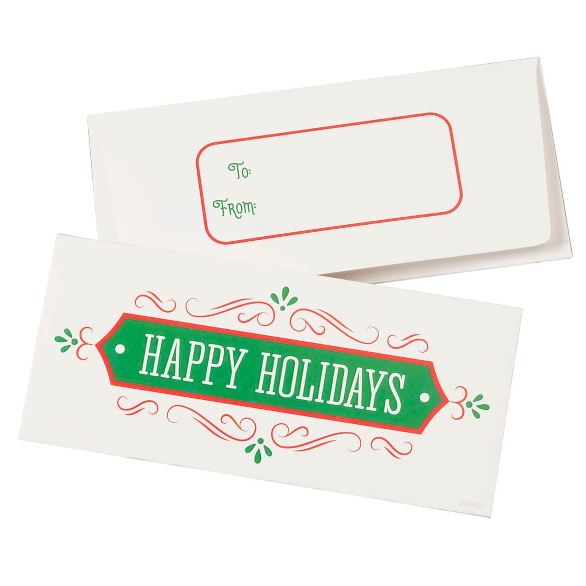 Christmas Money Card Holder Set of 12-360401
