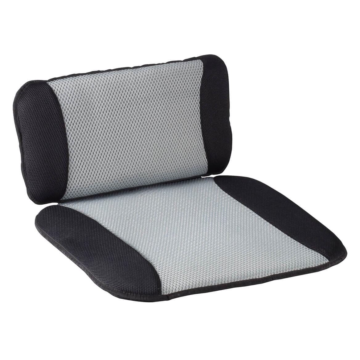 Auto Cooling Lumbar Pillow & Seat Cushion Set-360997