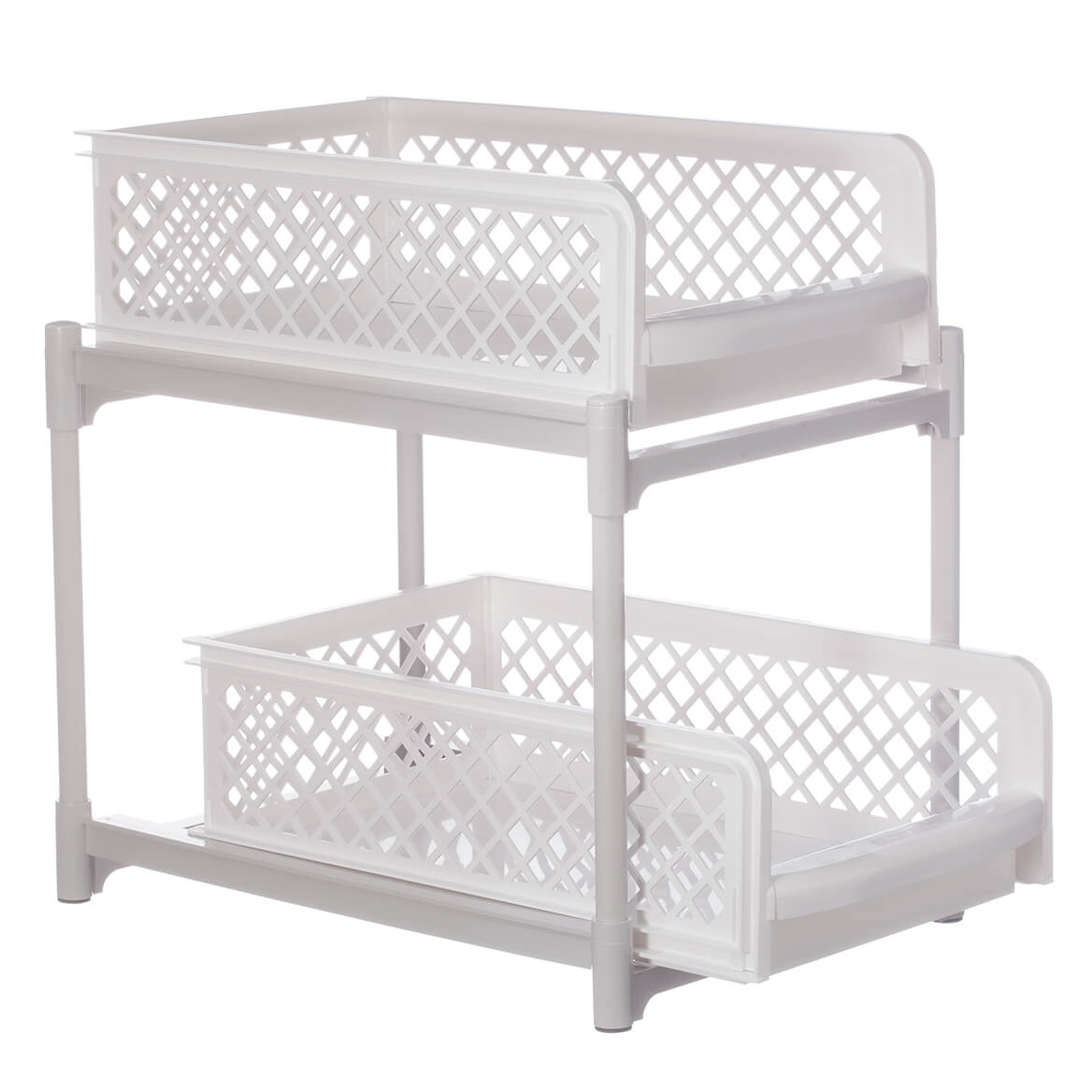 9-Inch Two-Tier Sliding Storage Drawers-361364