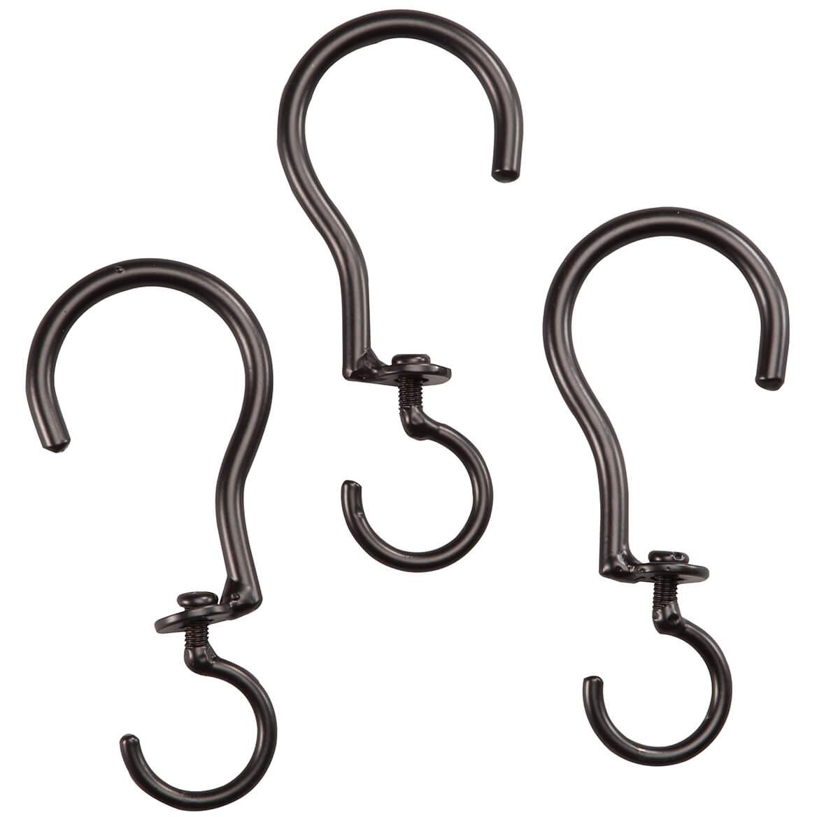 Swivel Basket Hooks, Set of 3 - Plant Hooks - Walter Drake