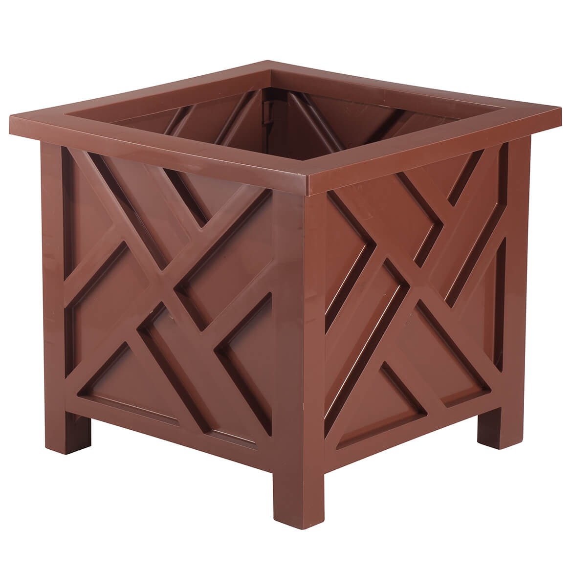 Brown Chippendale Planter-362535