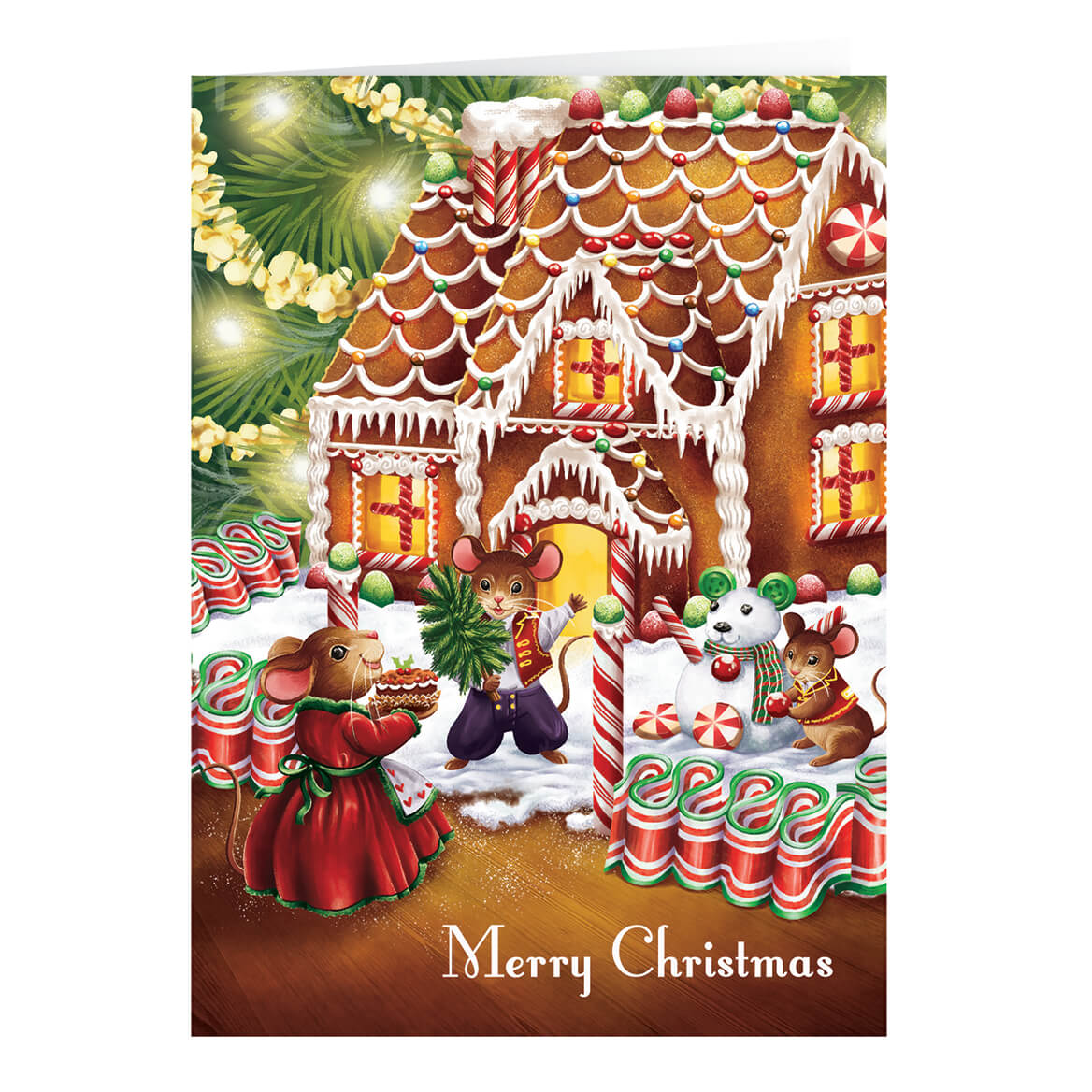 Personalized Sweet Greetings  Recipe Gift Christmas Card Set-363928