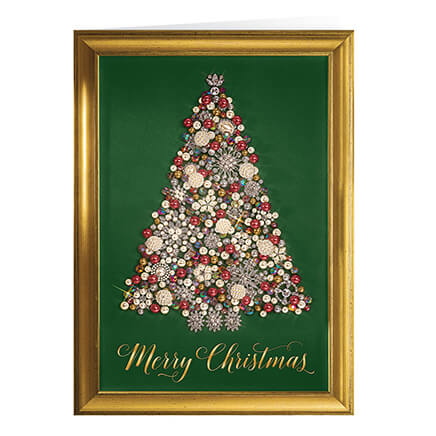 Christmas cards holiday cards greeting cards walter drake personalized glittering tree christmas cards set of 20 364016 m4hsunfo