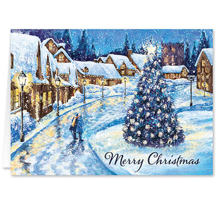 personalized christmas glow christmas cards set of 20 364030 - Christmas Images For Cards