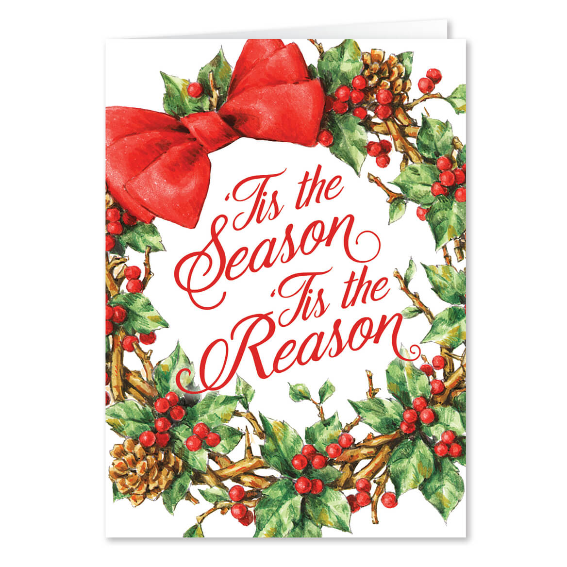 Tis the Reason Christmas Card Set of 20-364059