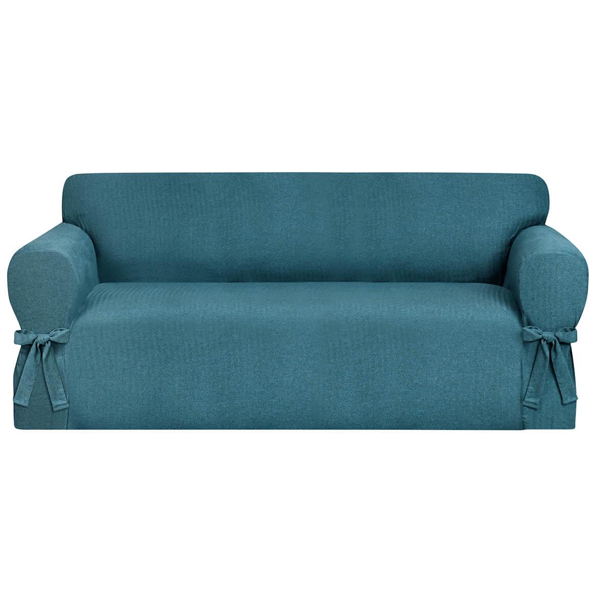 Kathy Ireland Evening Flannel Sofa Slipcover-364172