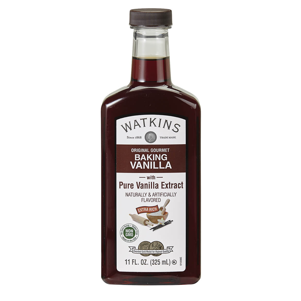 Watkins Original Baking Vanilla Extract, 11 oz.-364267