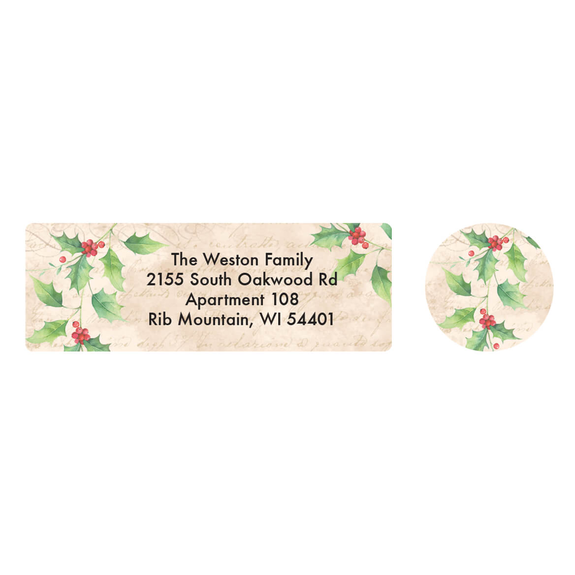 Personalized Good News Address Labels & Seals 20-364784