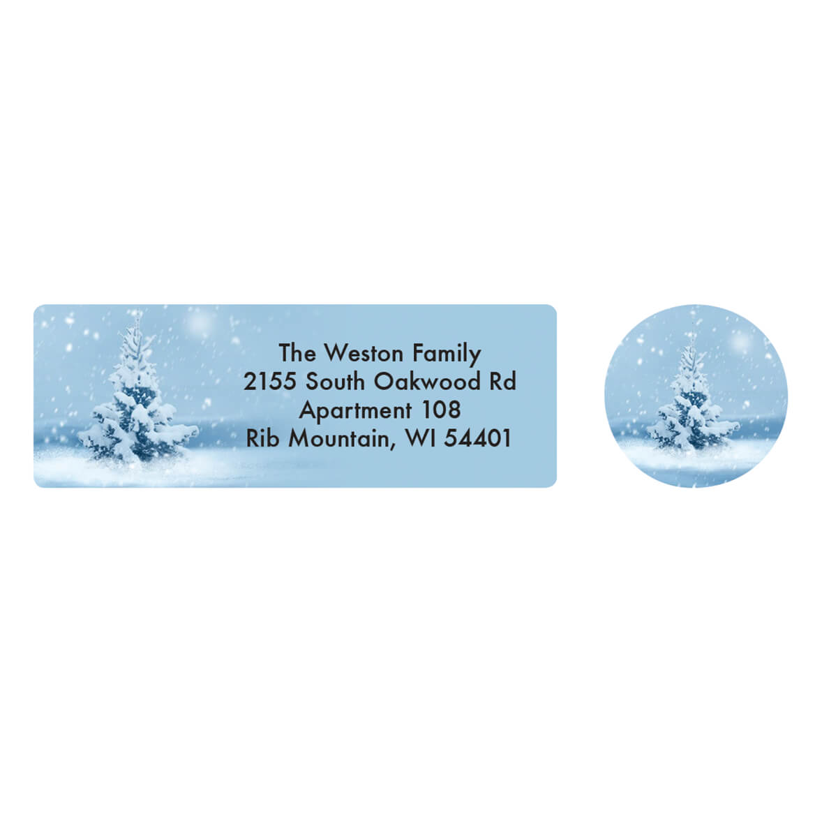 Personalized Isaiah 9:6 Christmas Address Labels & Seals 20-364786