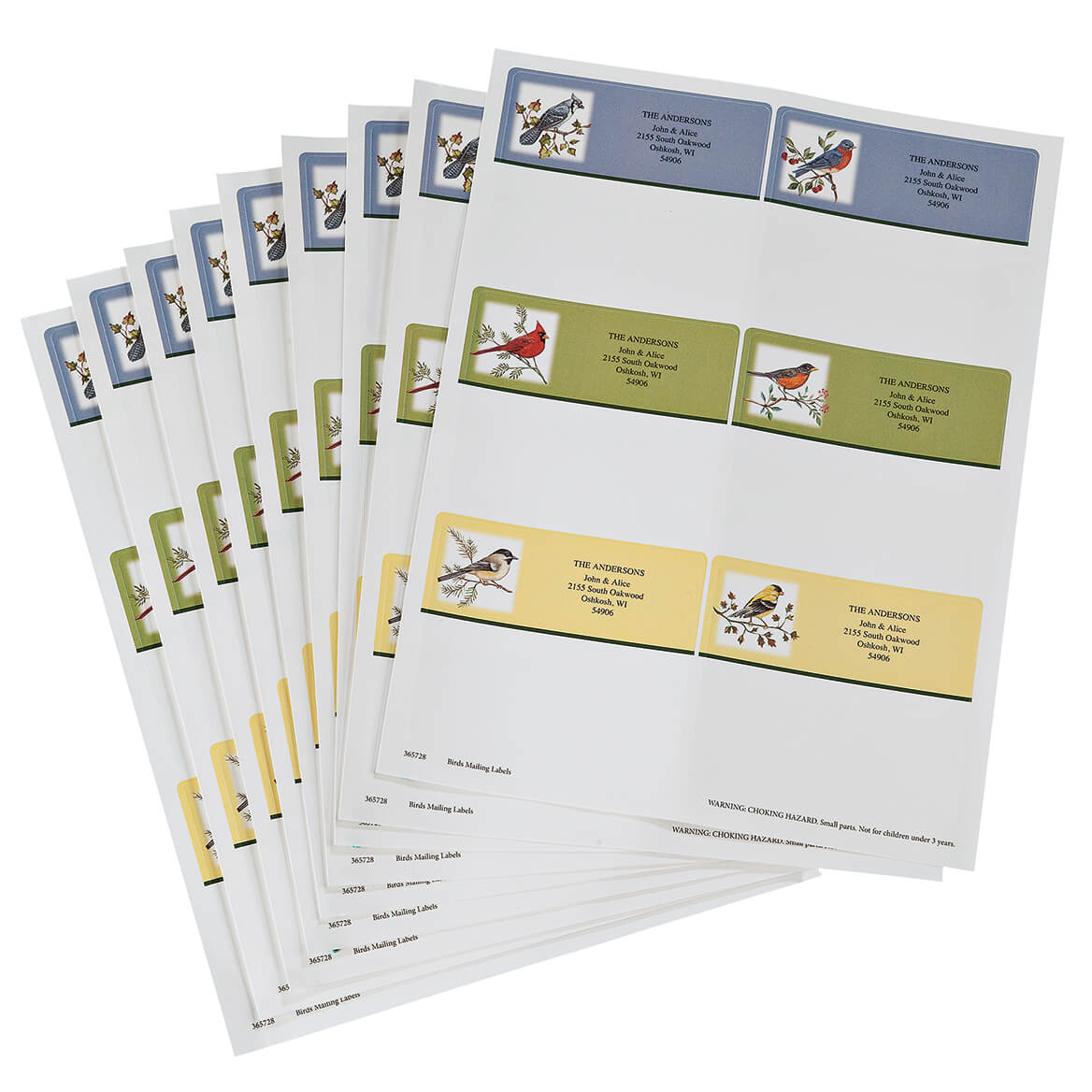 Personalized Birds Mailing Labels-365728