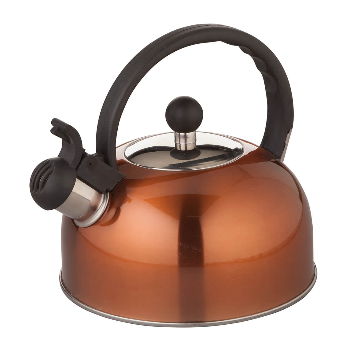 Copper Color Whistling Tea Kettle by Home Marketplace-365925
