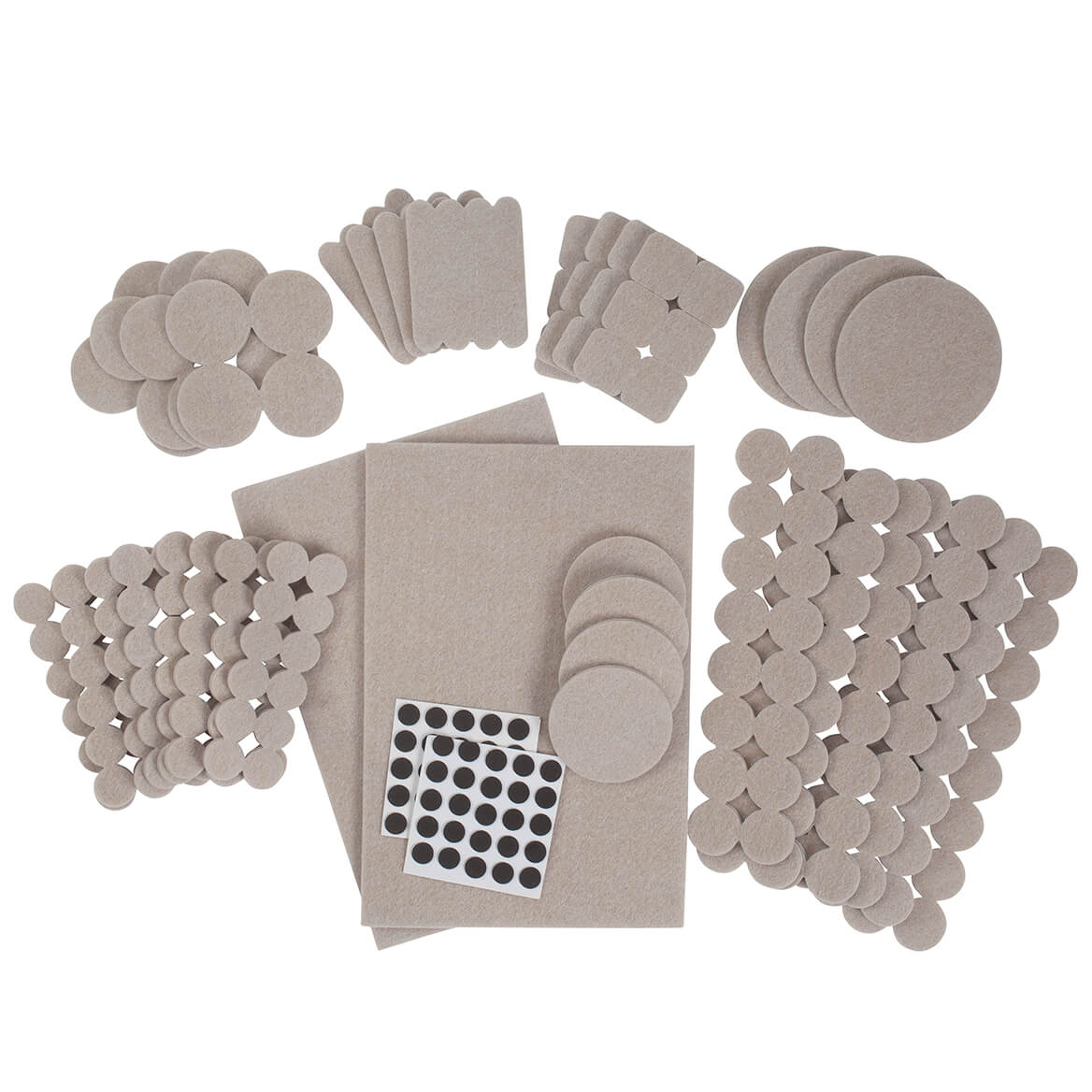 308-Piece Furniture Pad Variety Pack by LivingSURE™-366048