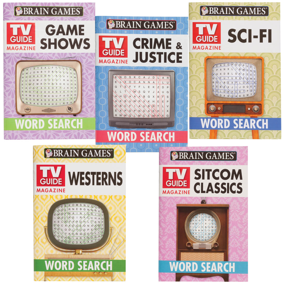 Brain Games® TV Guide Set of 5-366641