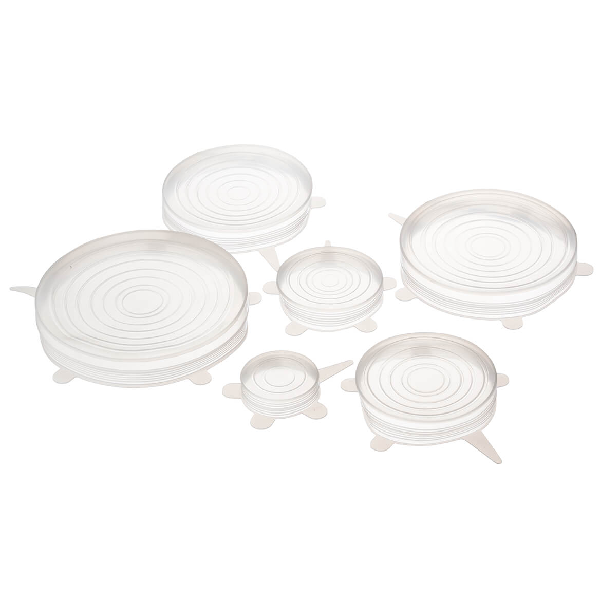 Silicone Stretch Storage Lids, Set of 6-366682