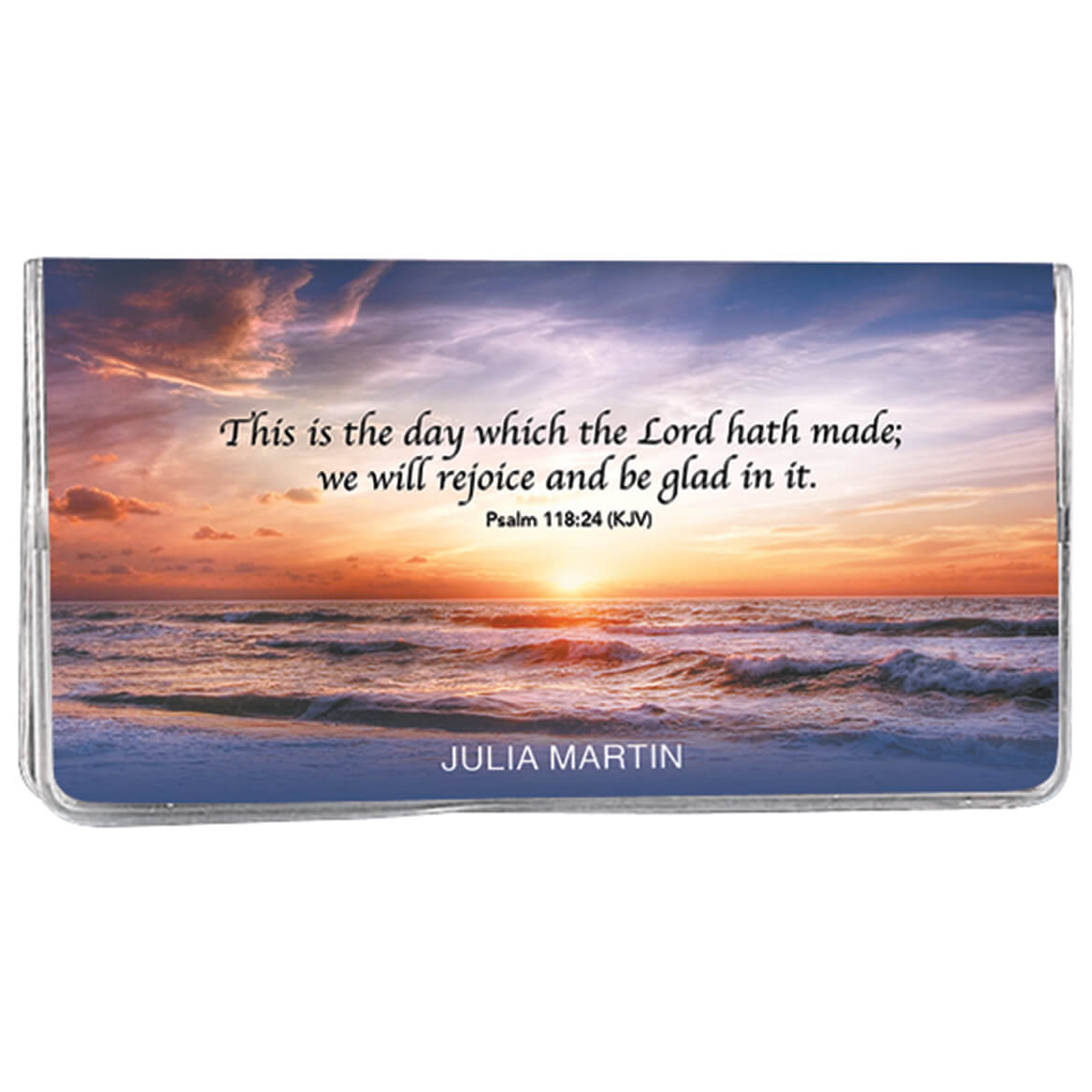 Personalized 2 Yr Planner Sunset Psalm 118-367707