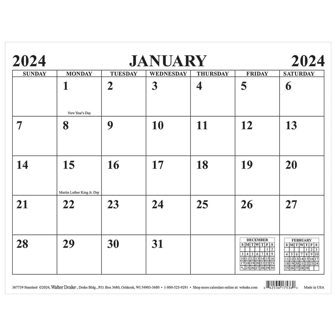 Standard Magnetic Calendar-367739