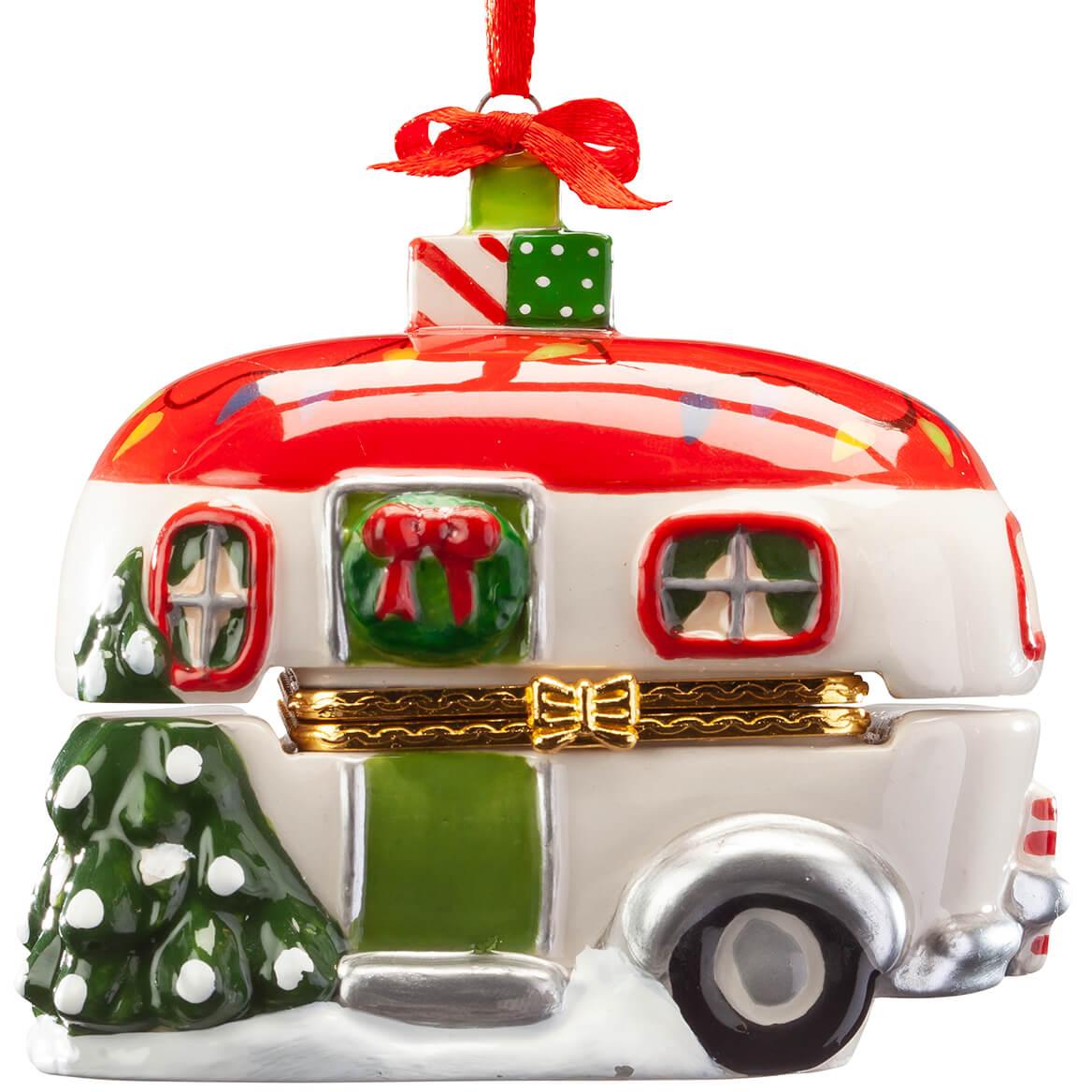 Vintage Camper Ornament Trinket Box-368107