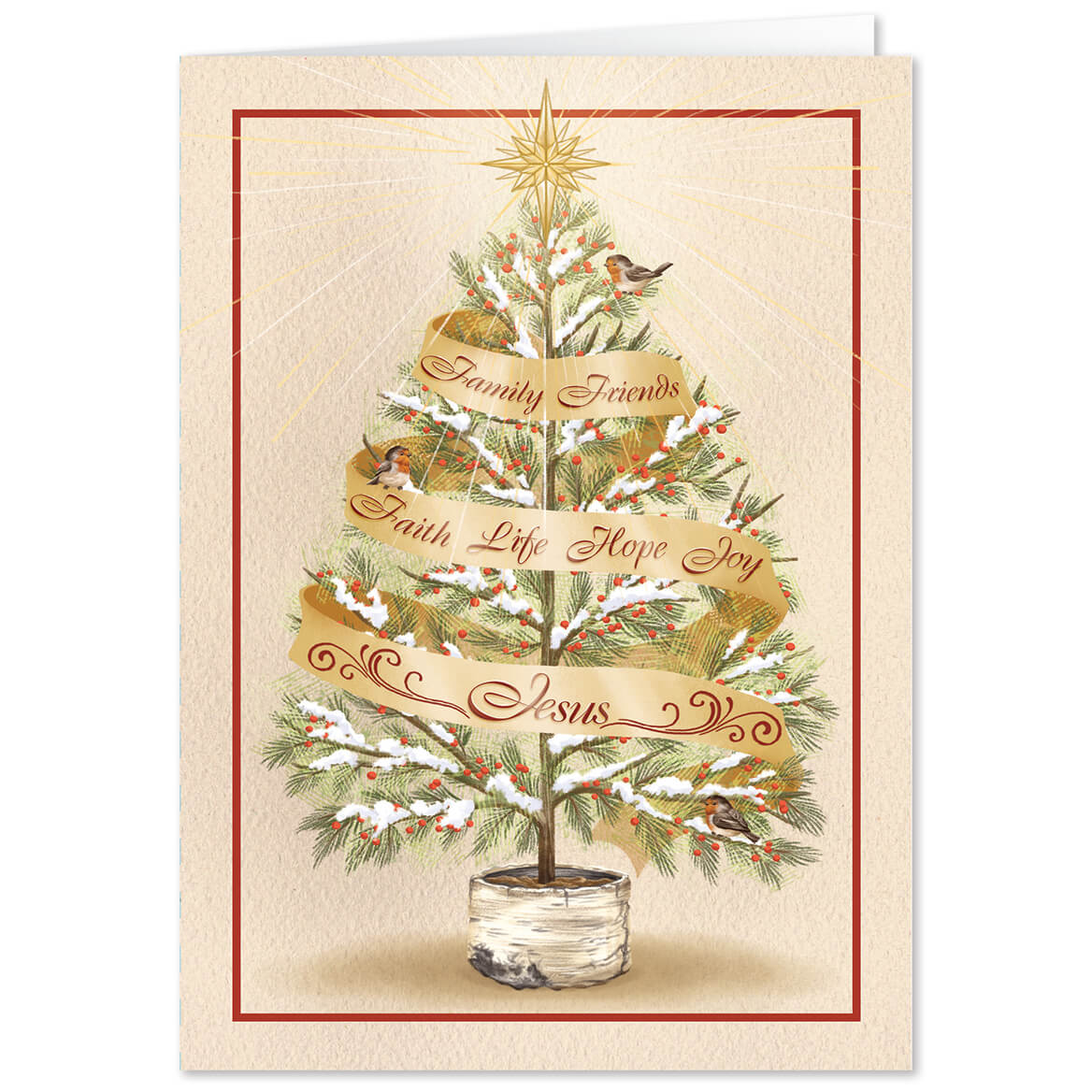 Personalized The Seven Wonders Christmas Card Set of 20-368247