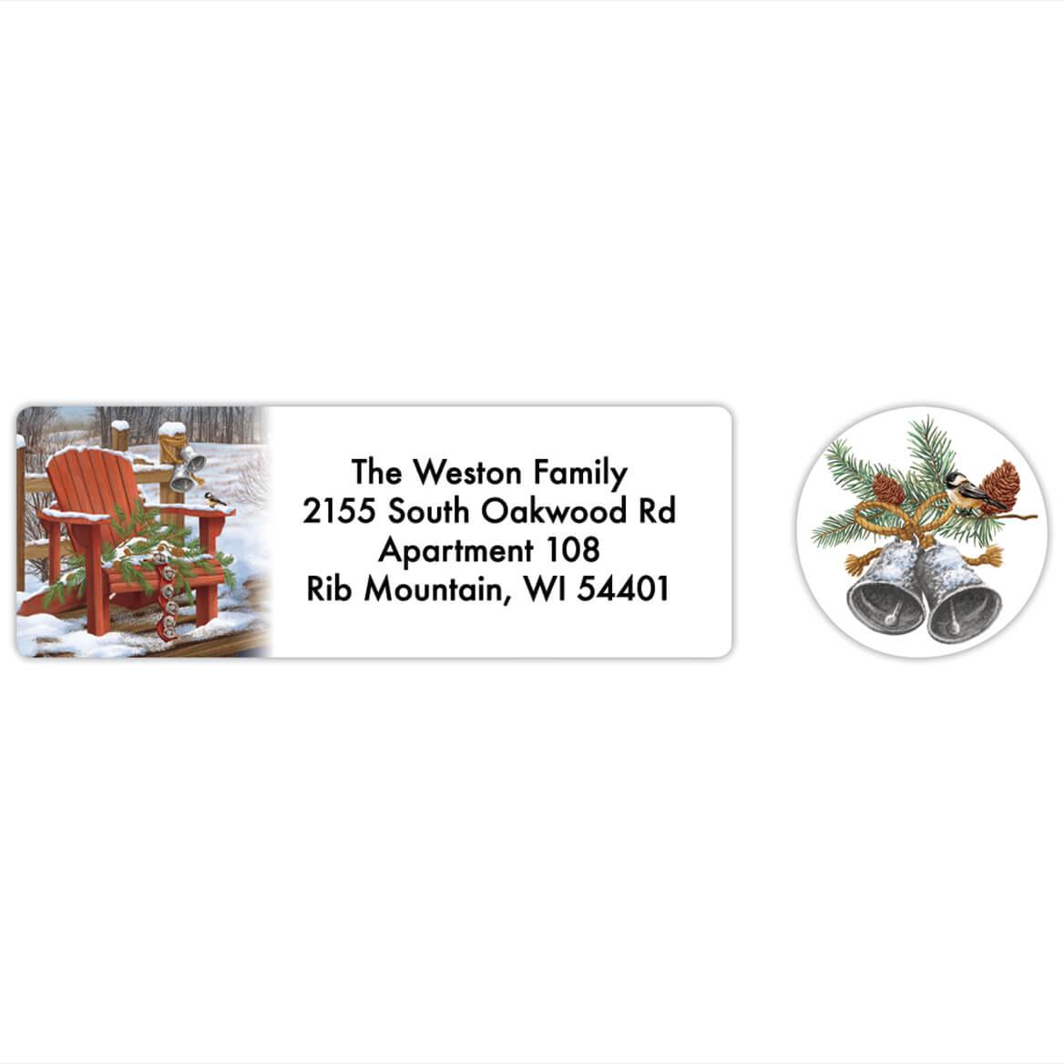 Personalized Adirondak Chair Labels & Seals 20-368272