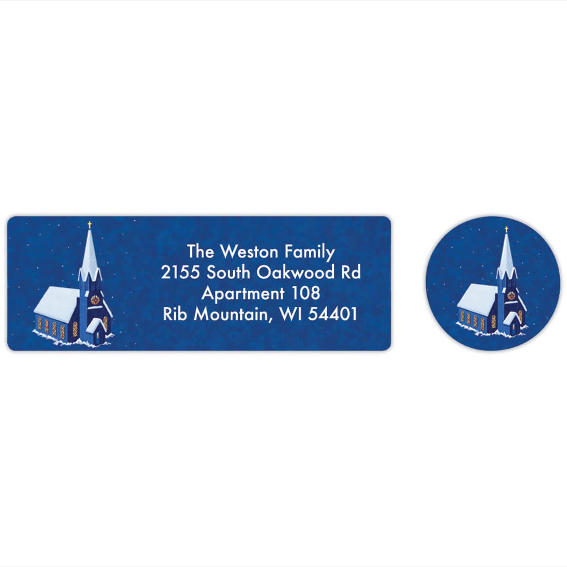 Personalized Peaceful Village Labels & Seals 20-368278