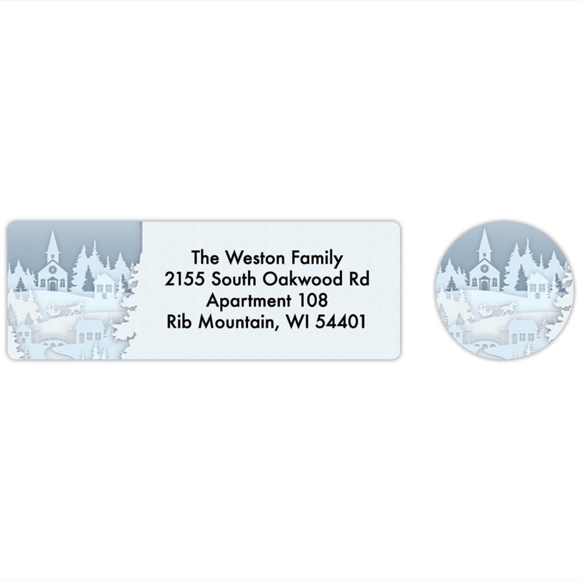 Papercut Collage Labels & Seals Set of 20-368282