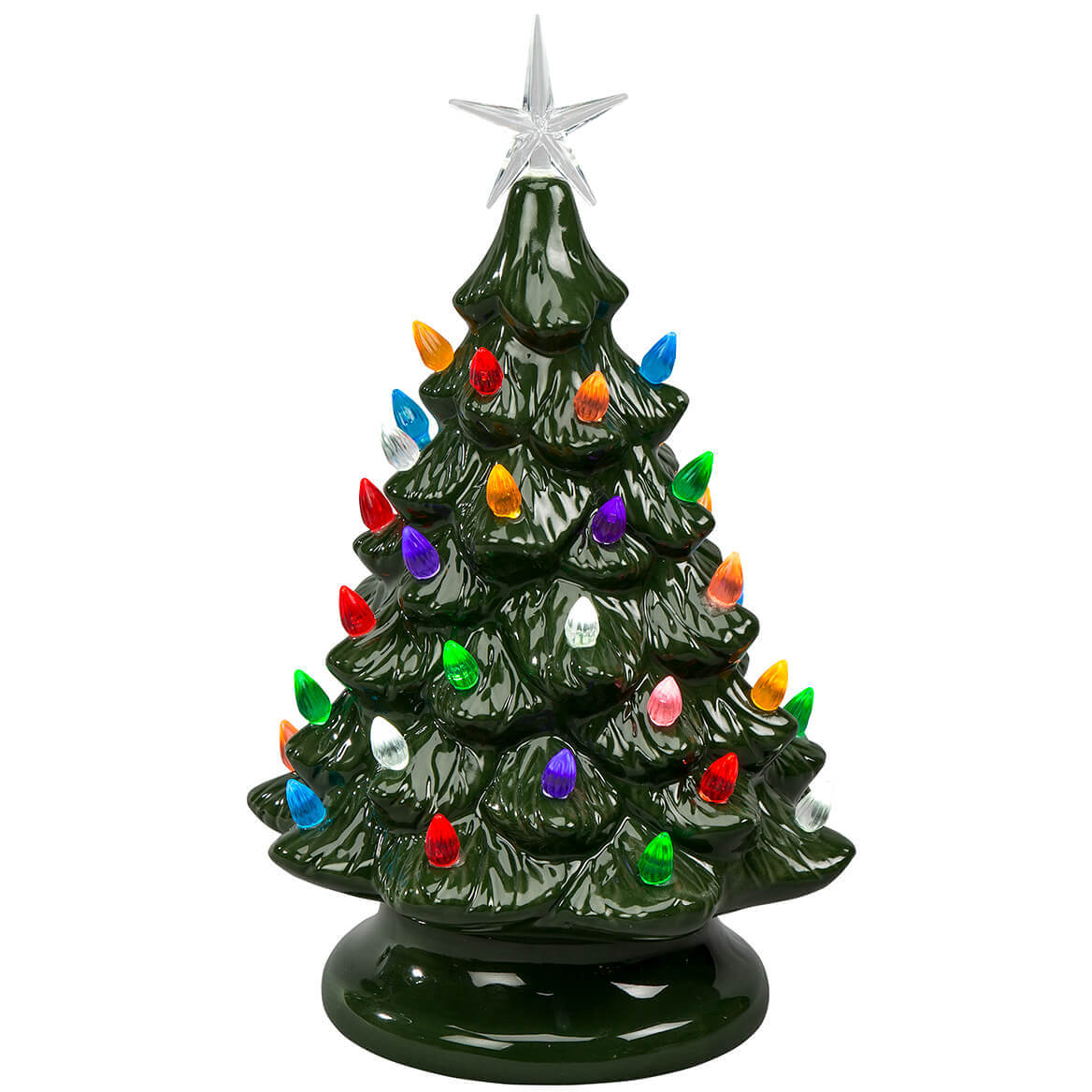Battery-Operated Vintage-Style Ceramic Tree-368597