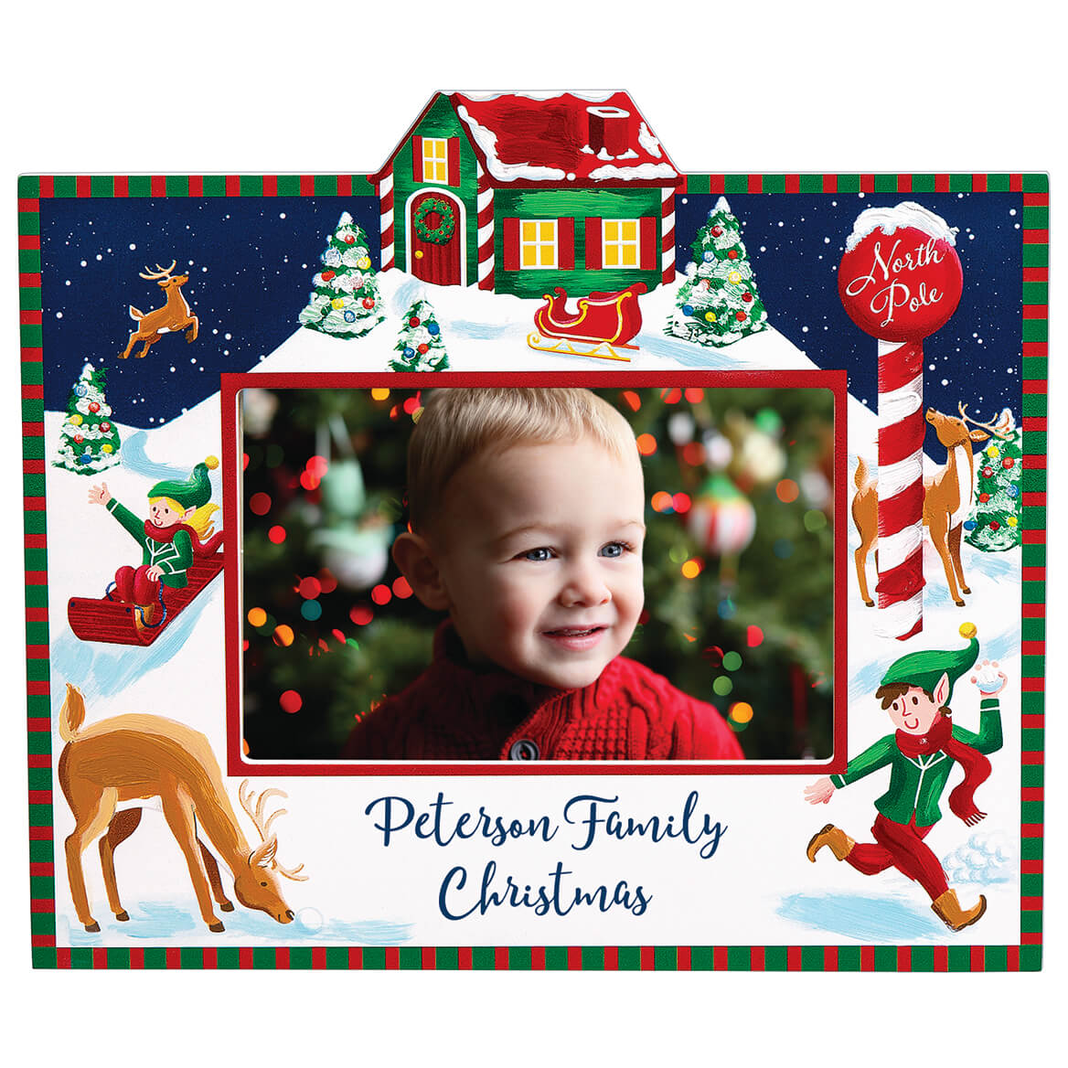 Personalized Christmas Break at the North Pole Frame-368810