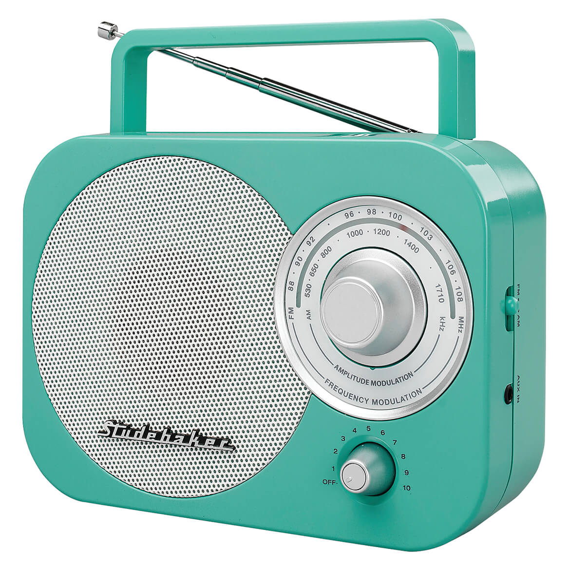 Studebaker Portable AM/FM Radio-368887