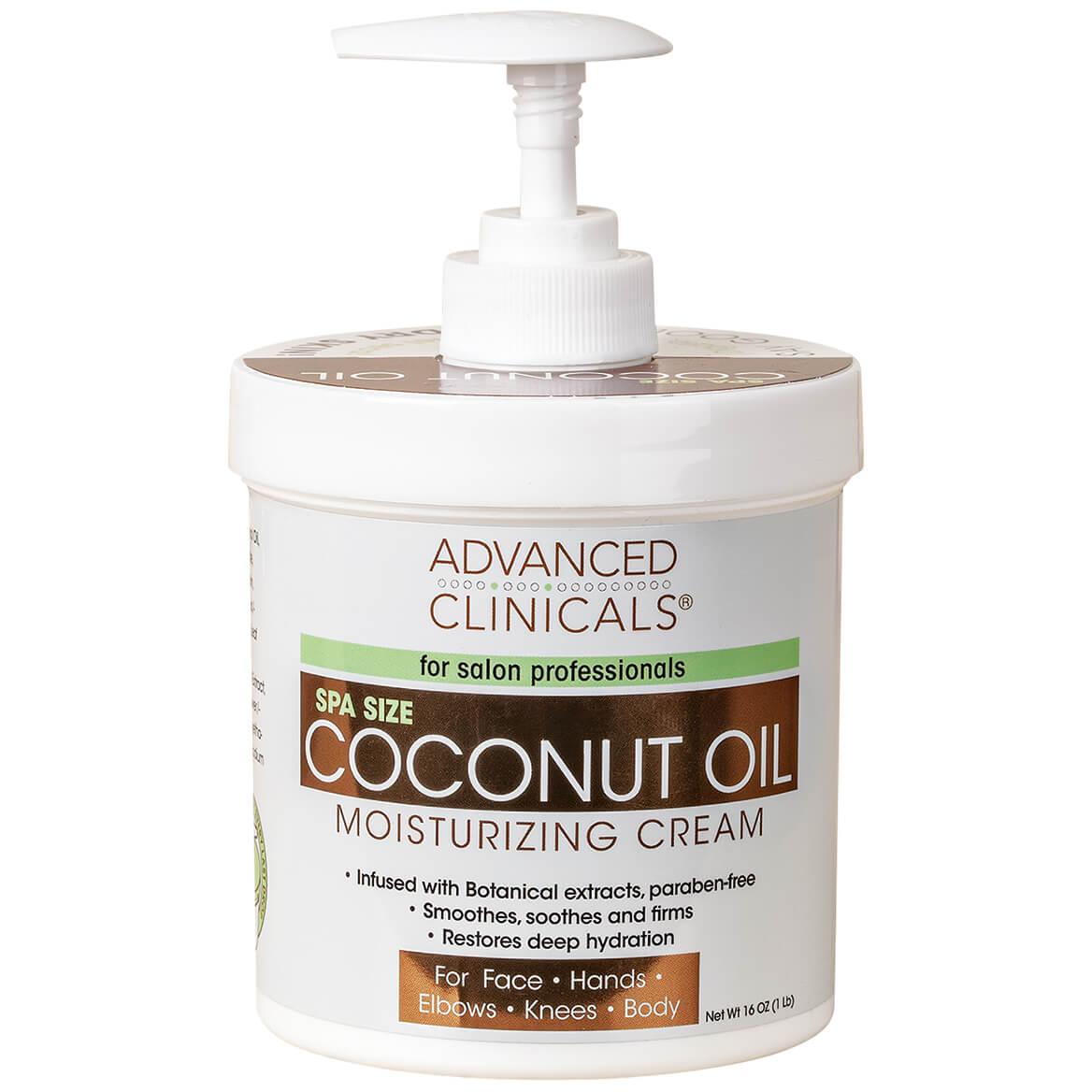 Advanced Clinicals® Coconut Oil Moisturizing Cream-368953