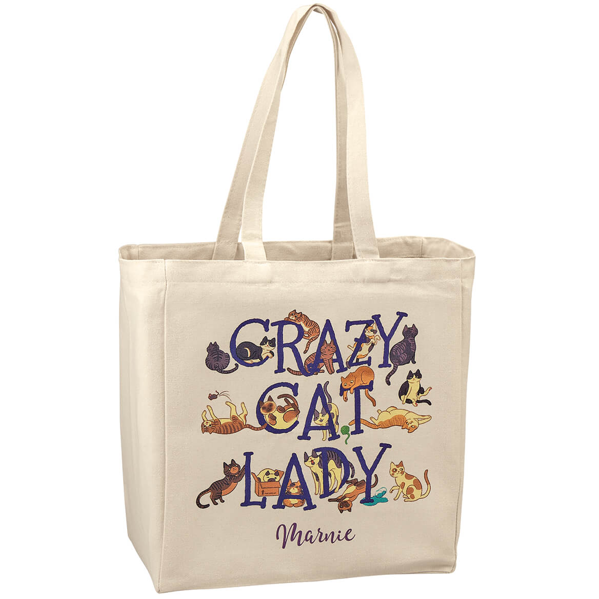 Personalized Crazy Cat Lady Tote-369348