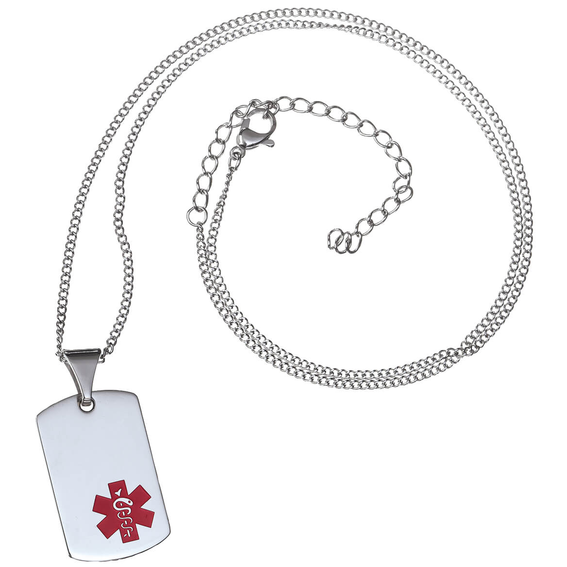 Personalized Medical ID Tag Necklace-369366