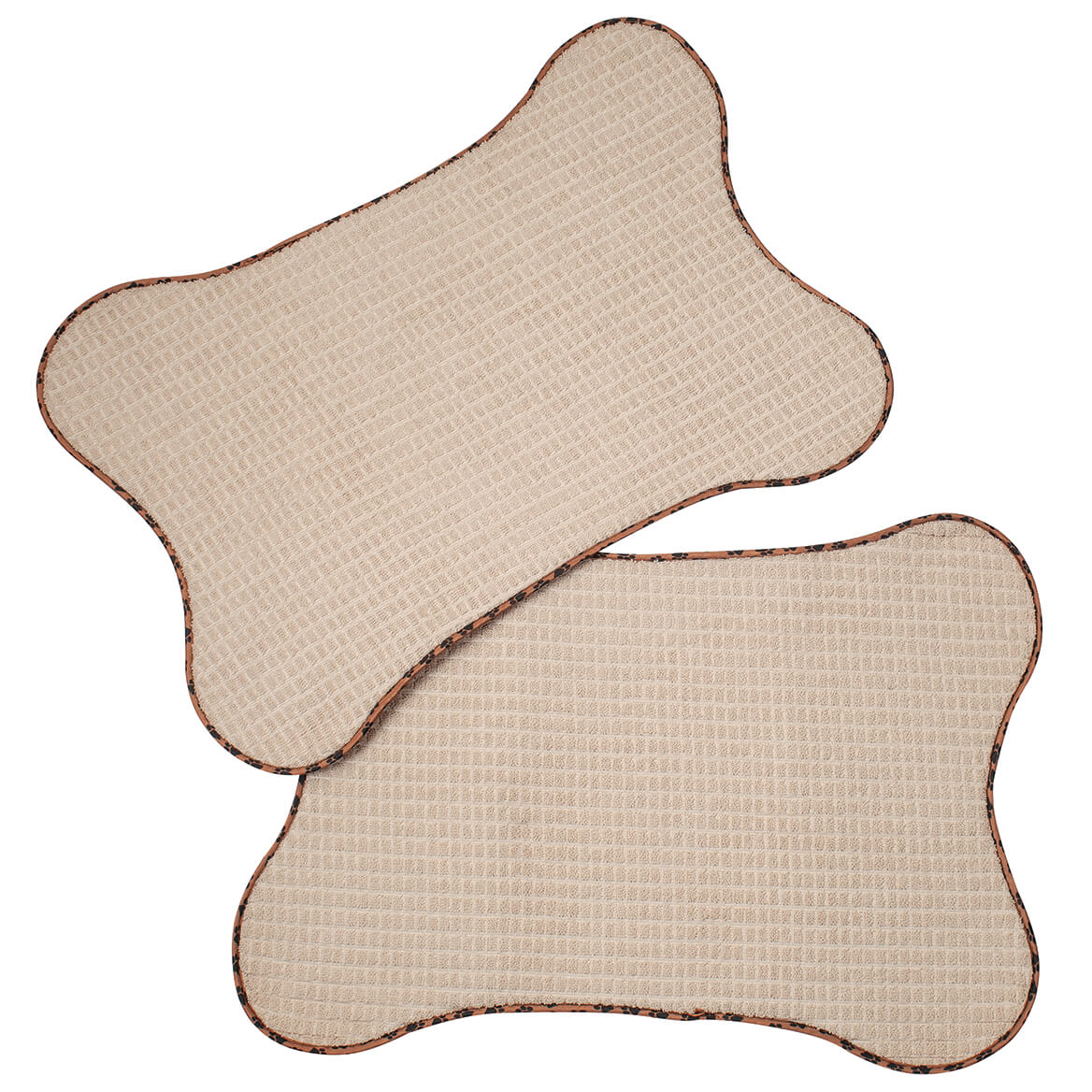 Bone-Shaped Pet Mats, Set of 2-369629