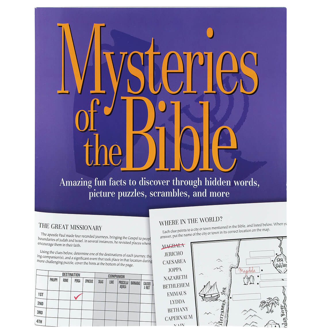 Mysteries of the Bible Puzzle Book-370717