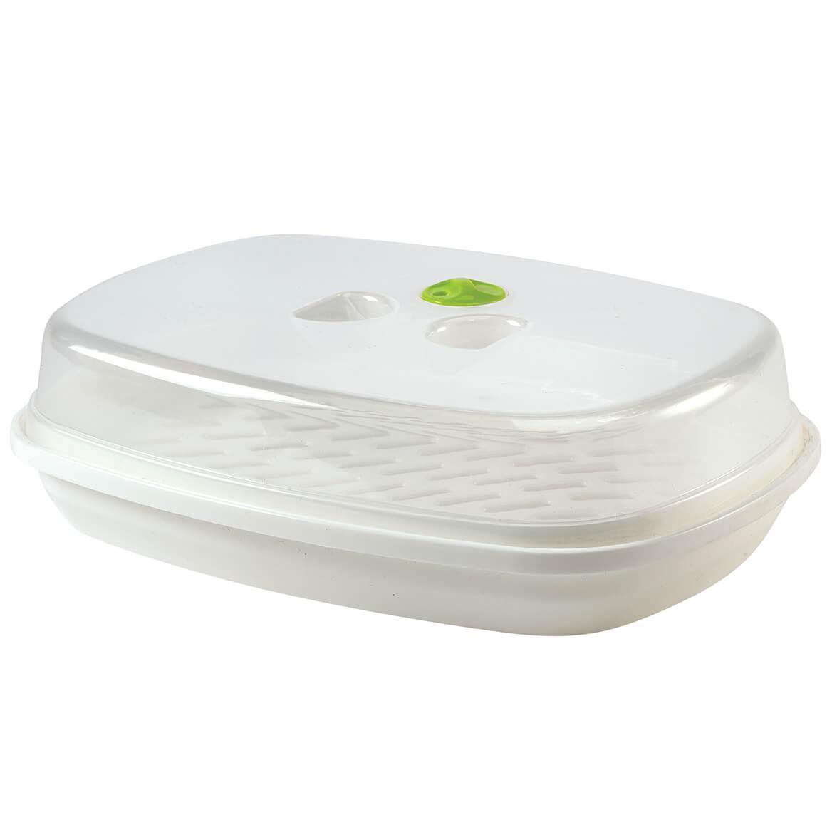 3-Piece All-Purpose Microwave Steamer-370740